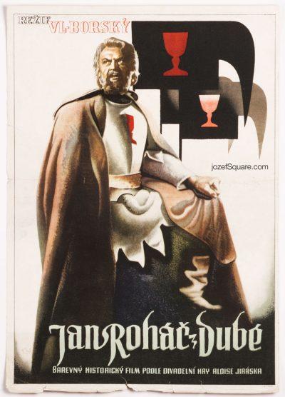 Movie Poster, Warriors of Faith, Albert Jonas, 40s Cinema Art