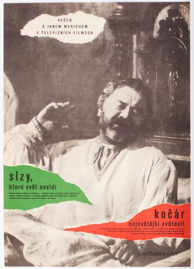 Movie Poster, Evening with Jan Werich, Bretislav Sebek