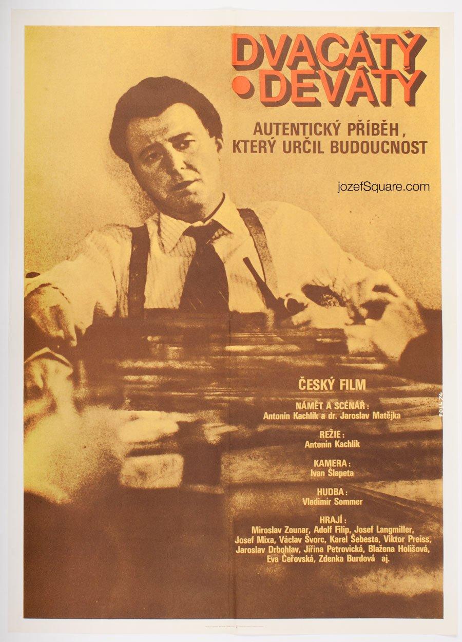 Movie Poster, Nineteen Twenty Nine, Dobroslav Foll