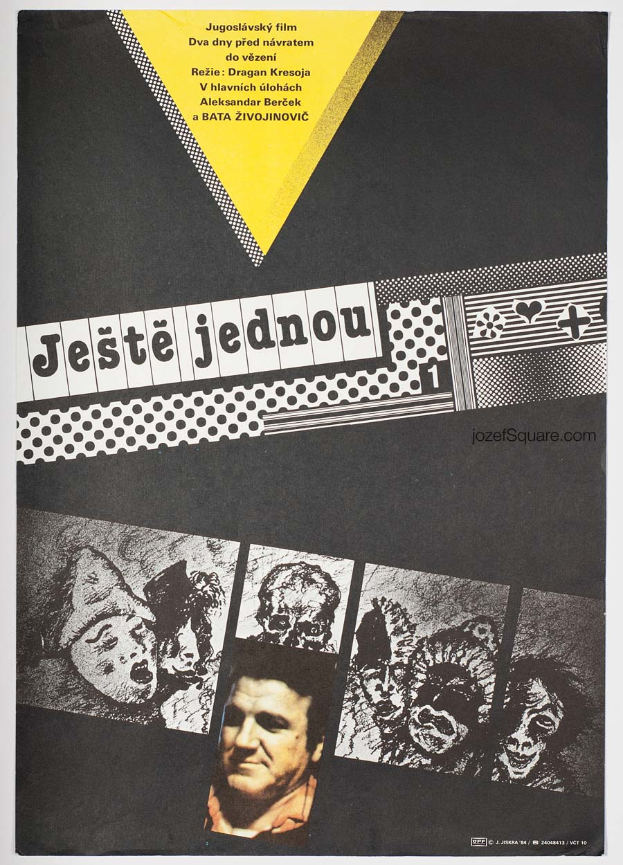 Movie Poster, Just Once More, Jan Jiskra