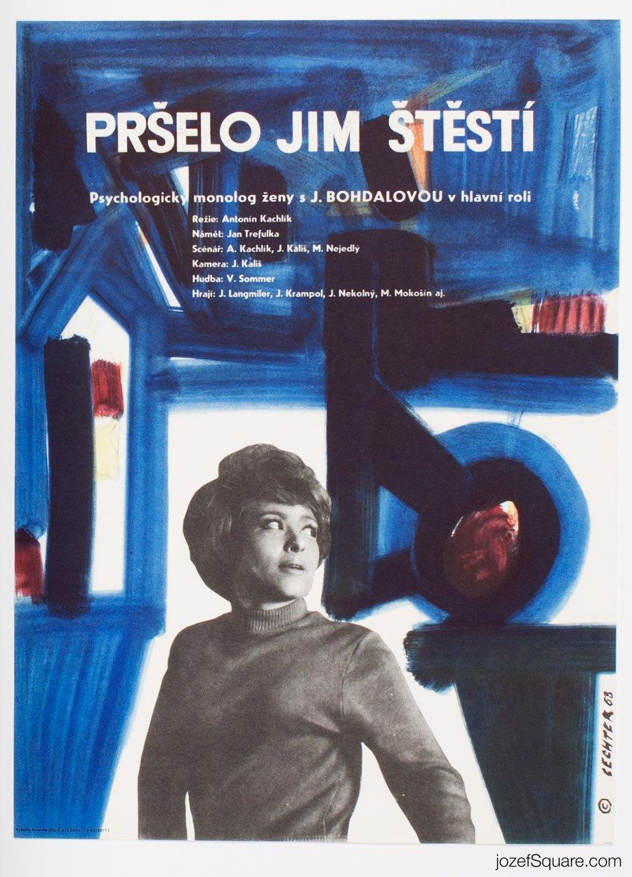 Movie Poster, Raining Happiness, Jan Sechter