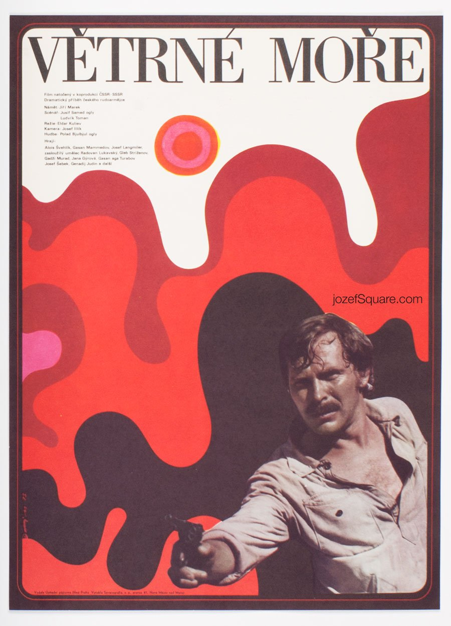 Movie Poster, Windy Sea, Jaroslav Fiser