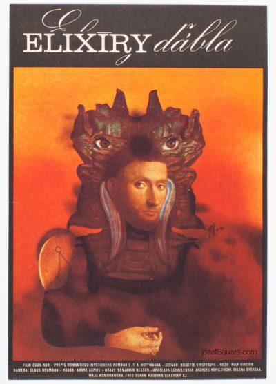 Movie Poster, Elixirs of the Devil, Josef Vyletal