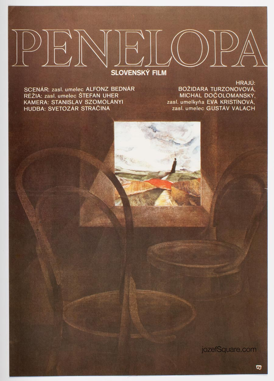 Movie Poster, Penelope, Julia Bukova