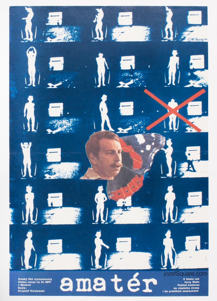 Movie Poster, Camera Buff, Krzystof Kieslowski, Karel Teissig