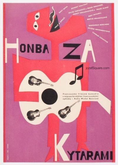 Movie Poster, Chase, Karel Vaca