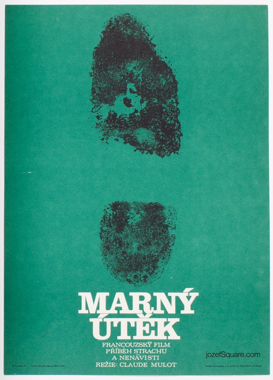 Minimalist Movie Poster, Contract, Libuse Zikova