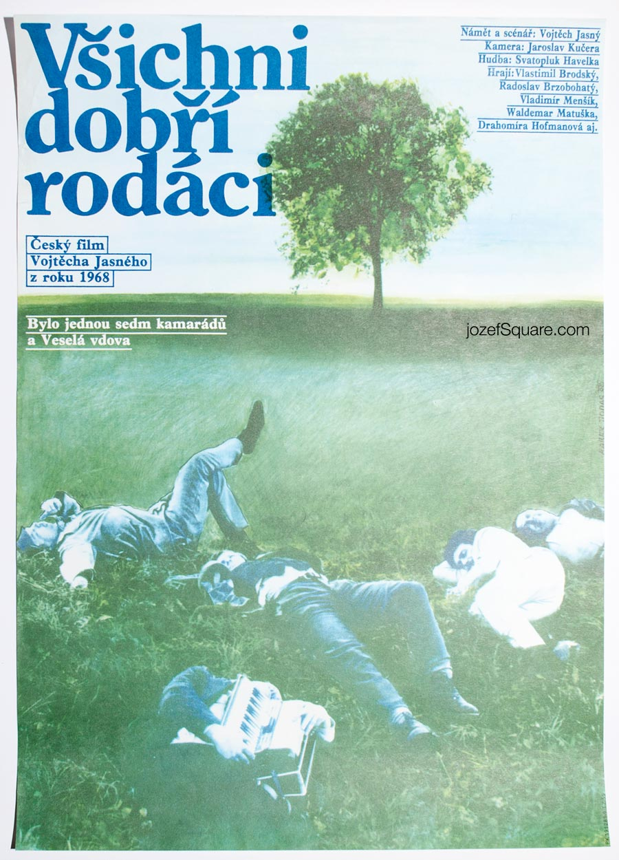 Movie Poster , All My Compatriots, Czechoslovak New Wave