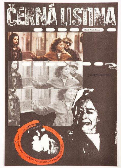 Movie Poster, Black List, Annie Girardot