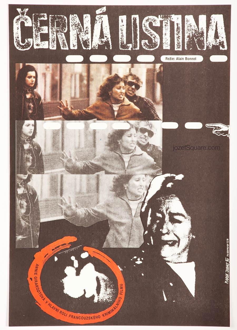 Movie Poster, Black List, Annie Girardot