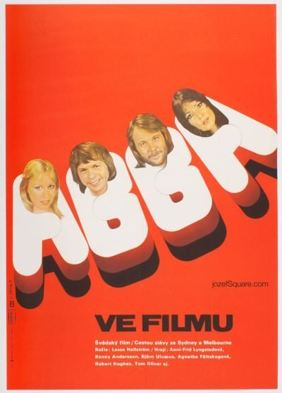 Movie Poster, ABBA, Martin Dyrynk