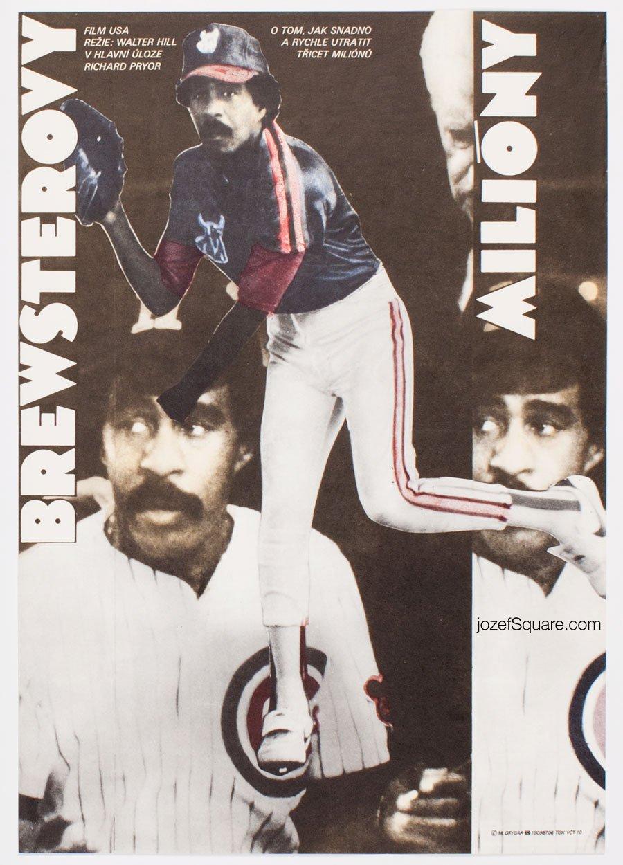 Movie Poster, Brewster's Millions, Milan Grygar
