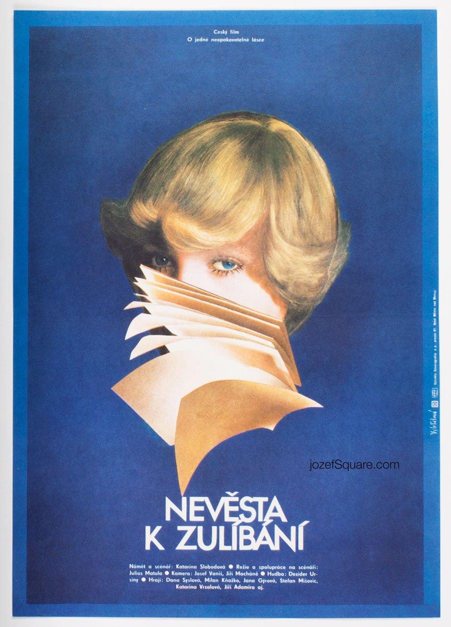 Movie Poster, Kissable Bride, Olga Polackova Vyletalova