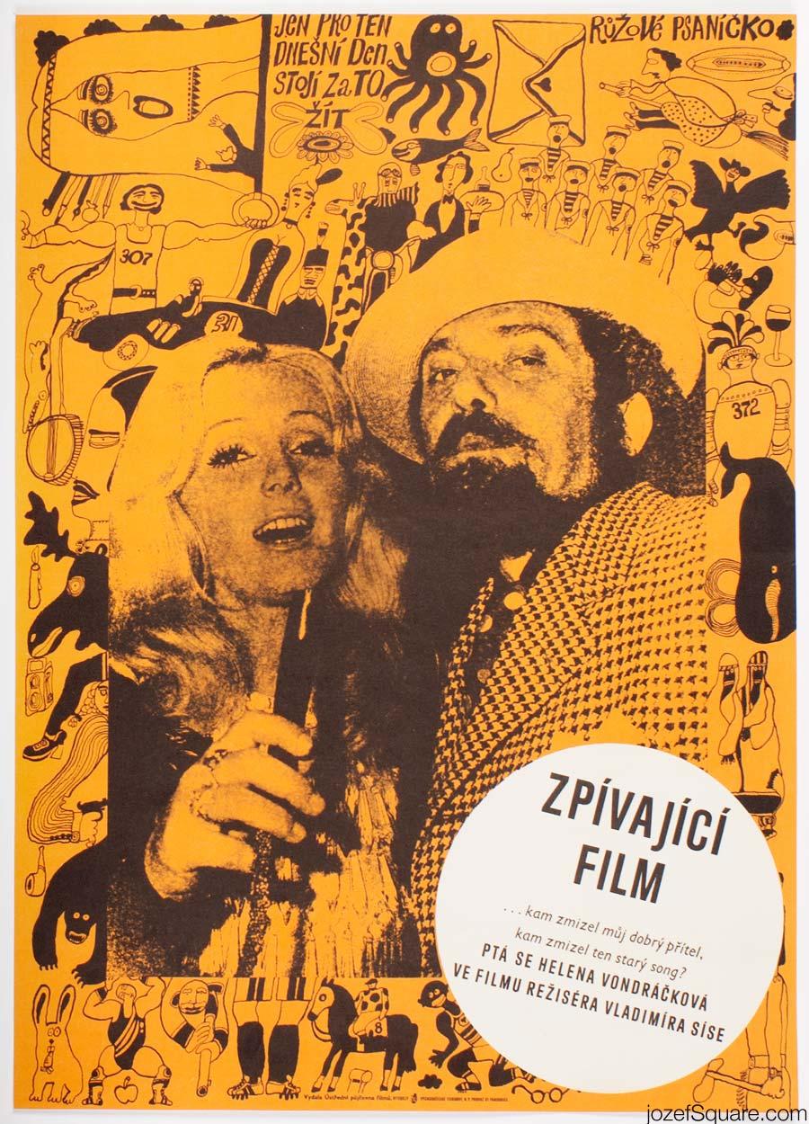 Movie Poster, Singing Film 2, Petr Sis