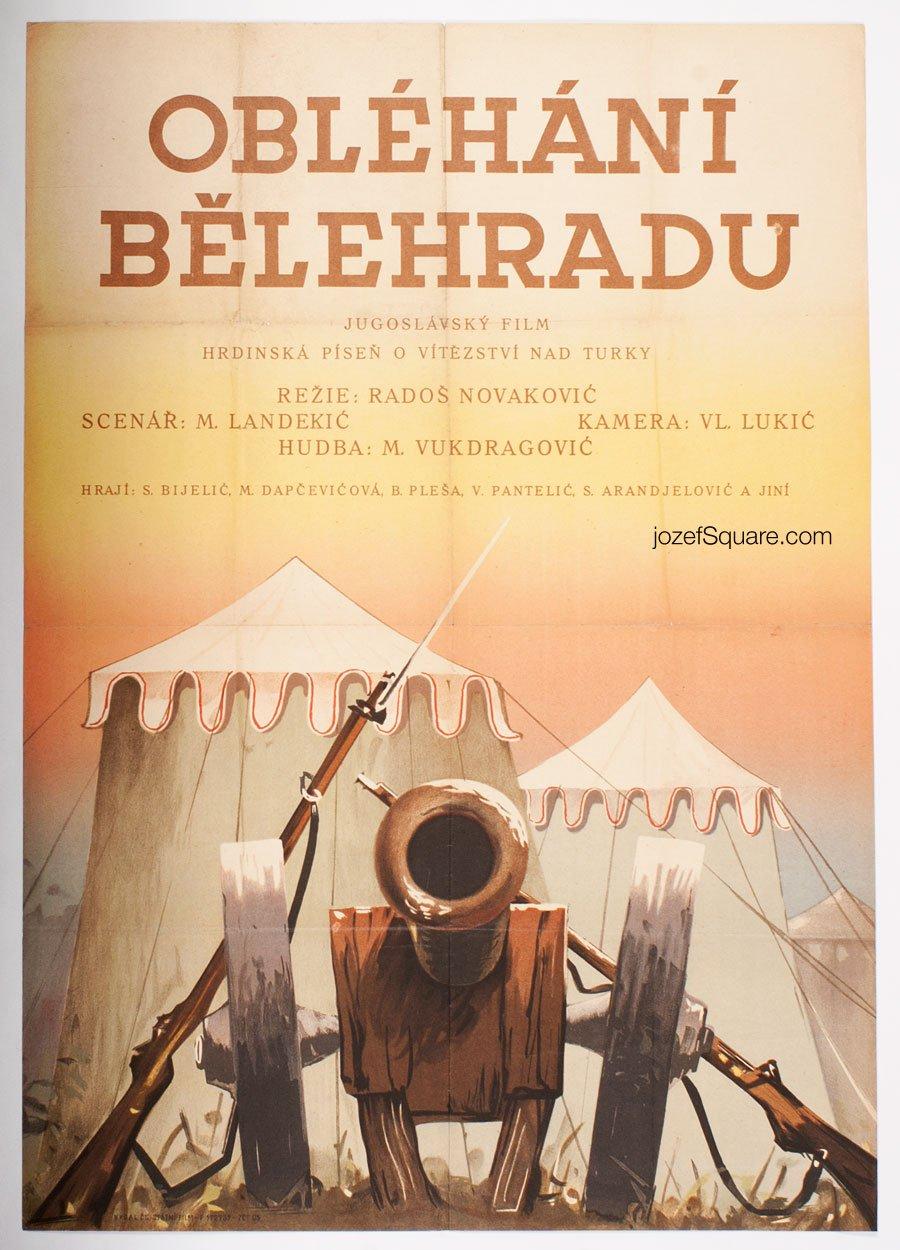 Movie Poster, Battle of Belgrad, Unknown Artist