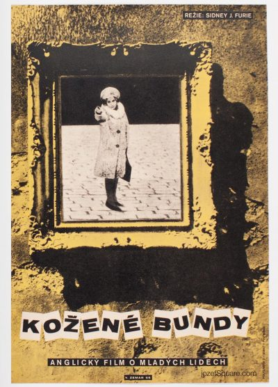Movie Poster, The Leather Boys, Vaclav Zeman
