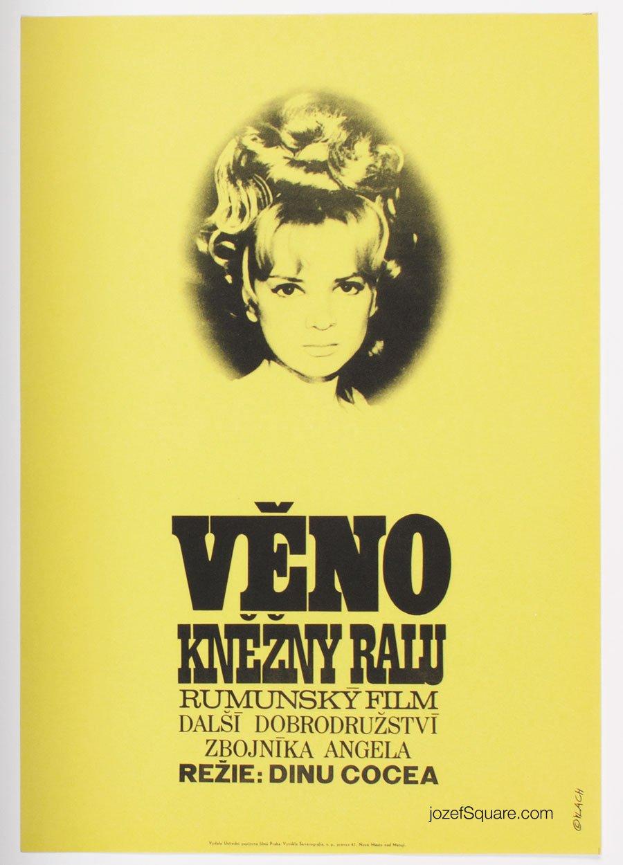 Movie Poster, Dowry of Lady Ralu, Zdenek Vlach