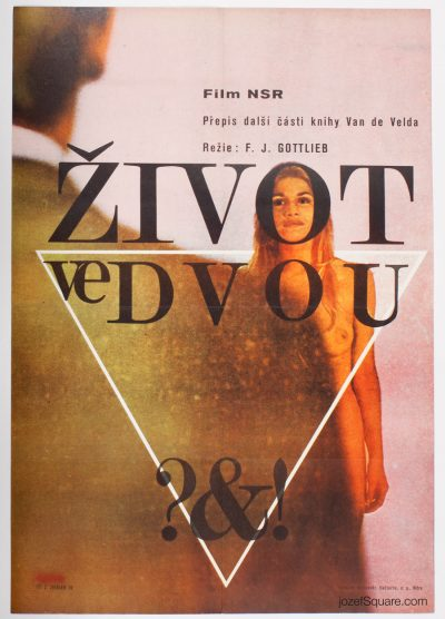 Movie Poster, Living Together, Zdenek Ziegler