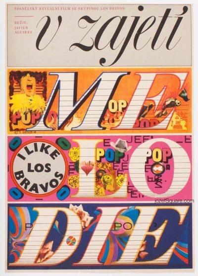 Movie Poster, Los Chicos con las Chicas, Zdenek Ziegler