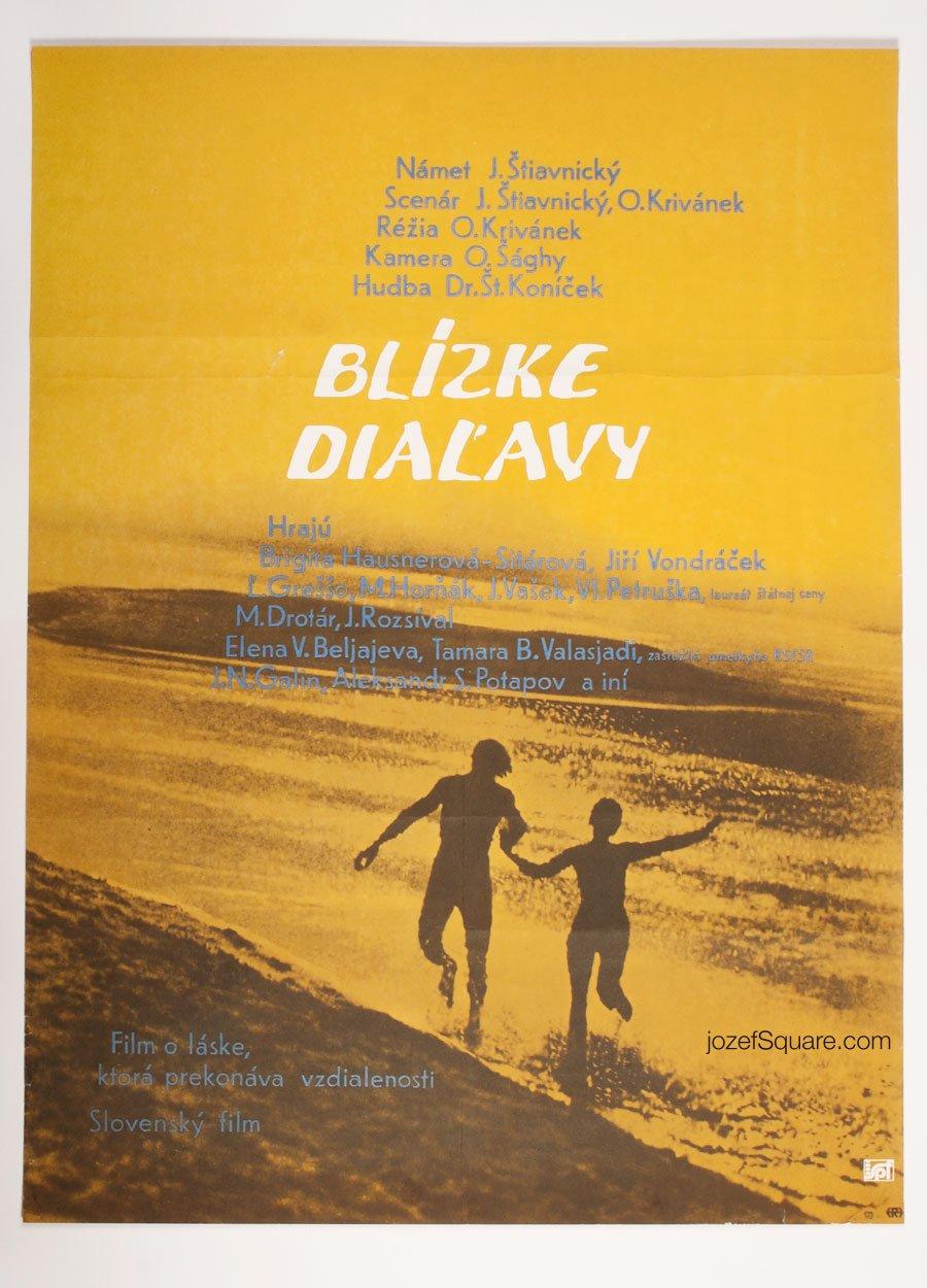 Minimalist Movie Poster, Close Distance, Anna Bilakova