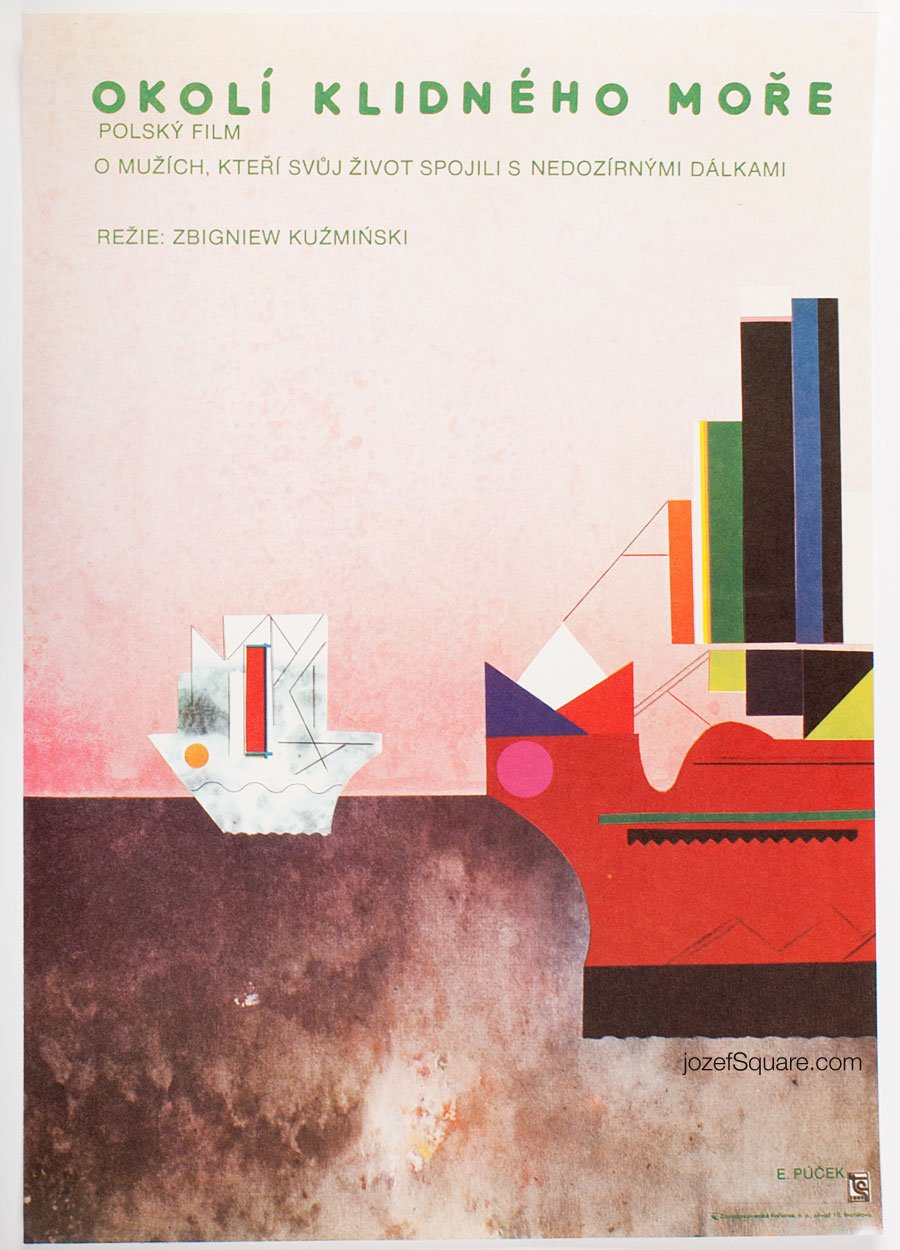 Movie poster, Environs of Quiet Sea, Ever Alexander Pucek