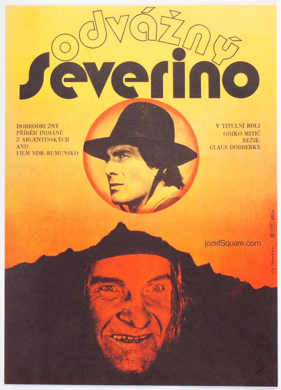 Western Movie Poster, Severino, Jan Tomanek