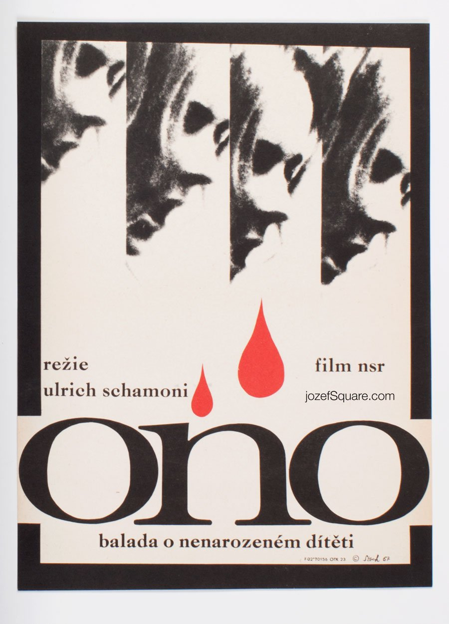 Movie Poster, It, Ulrich Schamoni, Jiri Stach, 60s Cinema Art