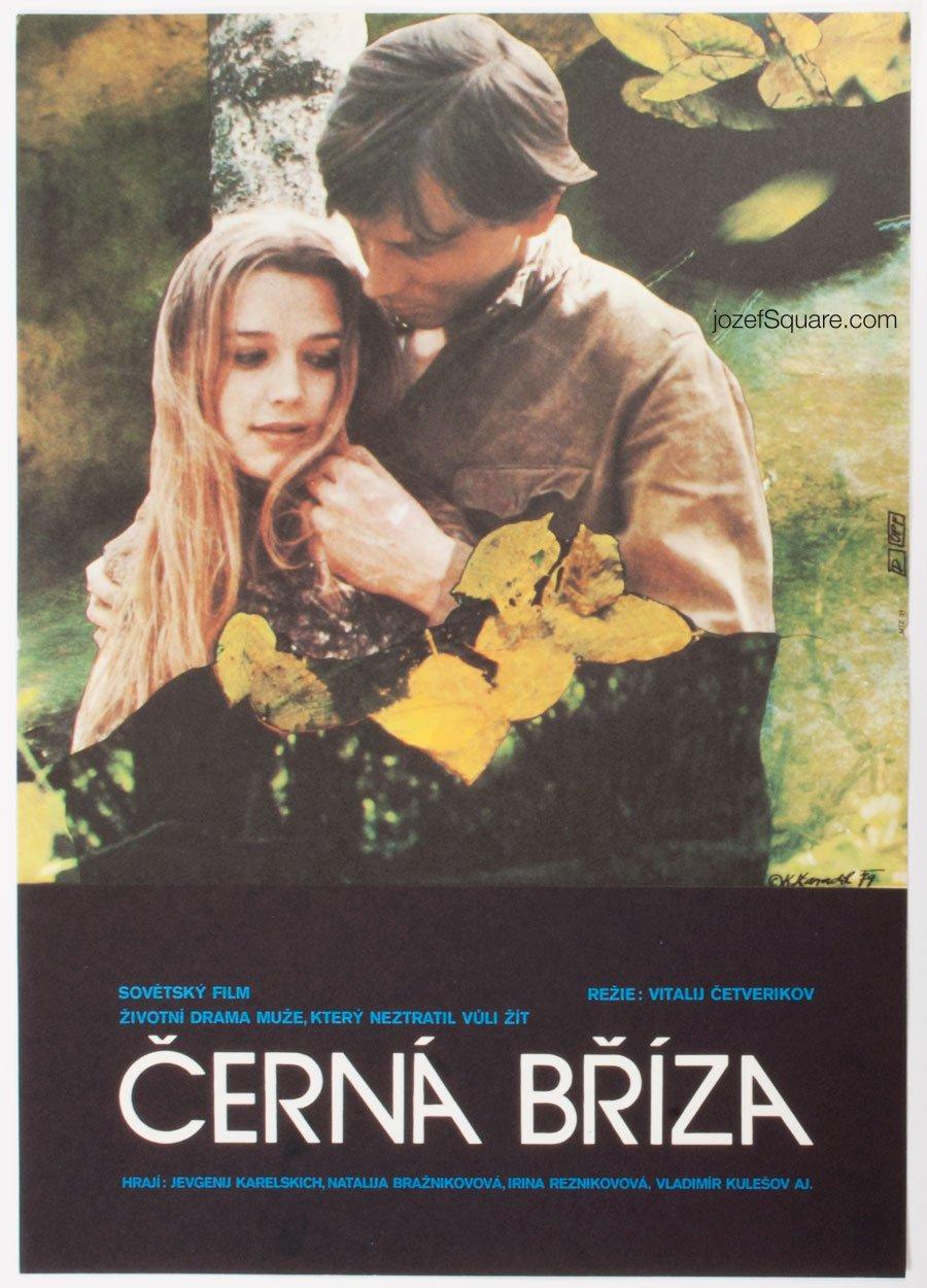 Movie Poster, Black Birch, Karel Zavadil