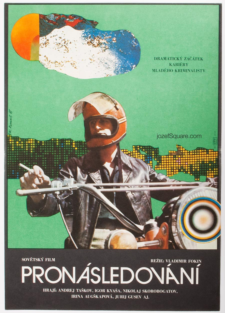 Abstract Movie Poster - Detective, Karel Zavadil