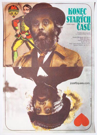 Movie Poster, End of Old Times, Jiri Menzel, Marek Jodas