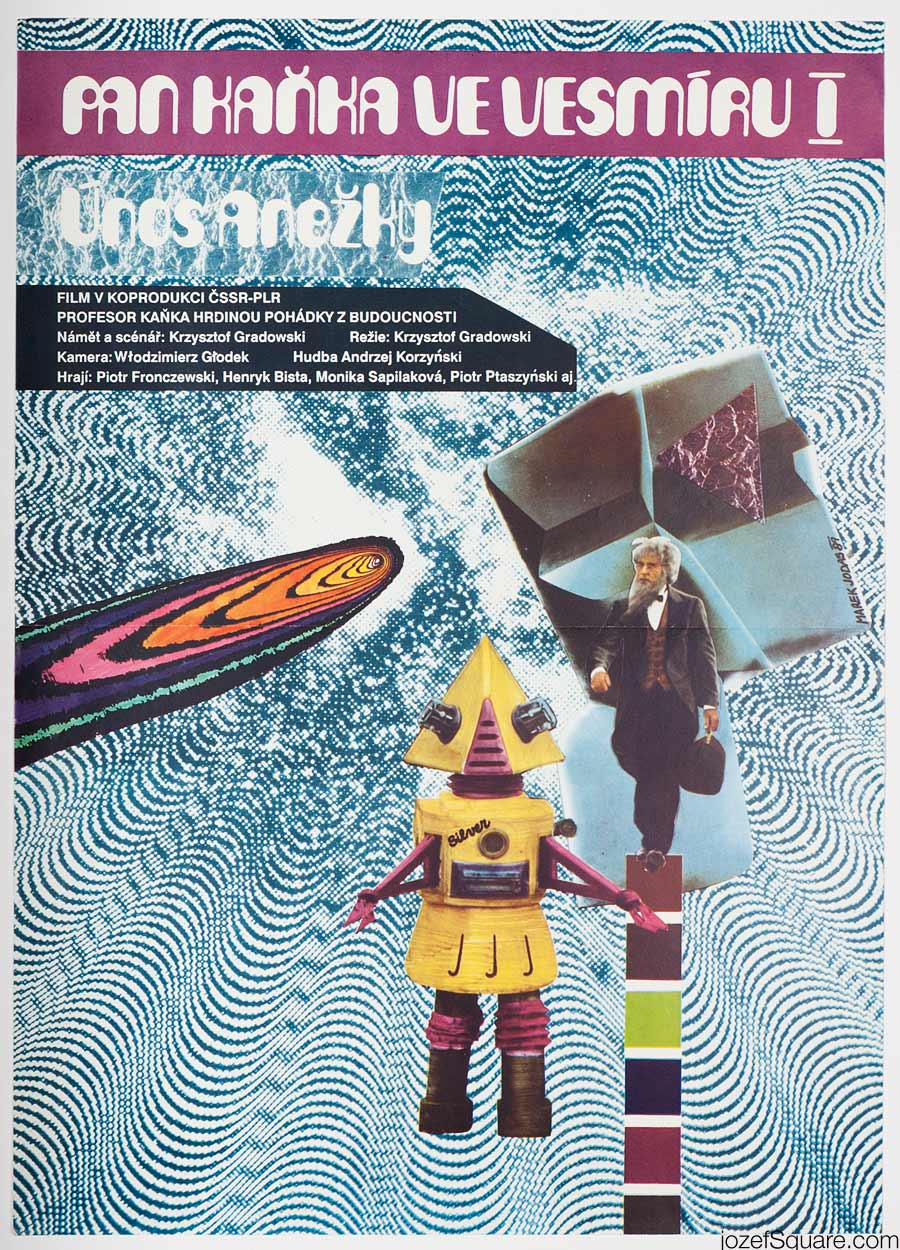 Movie Poster, Mr. Blob in Universe, Marek Jodas
