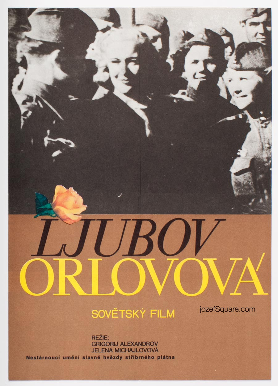 Movie Poster, Lyubov Orlova, Nadezda Blahova