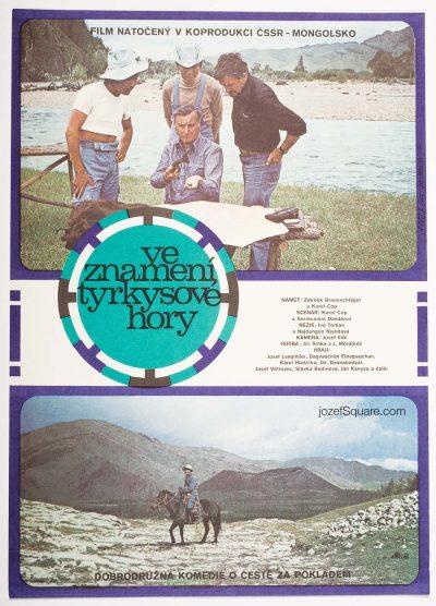 Movie Poster, Under Sign of Turquoise Mountain, Nadezda Blahova