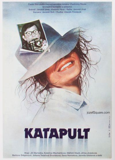 Movie Poster, Catapult, Olga Polackova Vyletalova