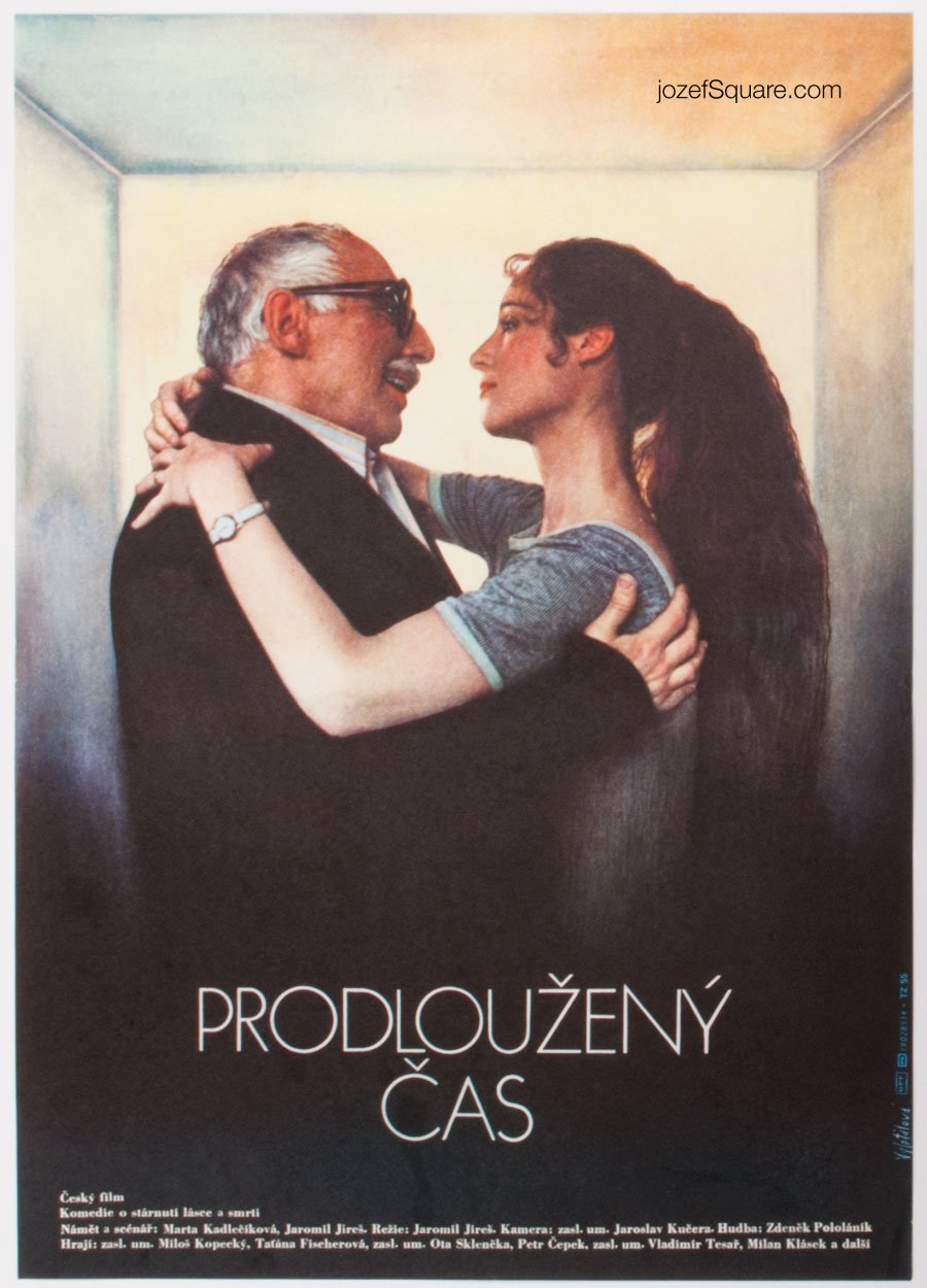 Movie Poster, Extended Time, Olga Polackova-Vyletalova
