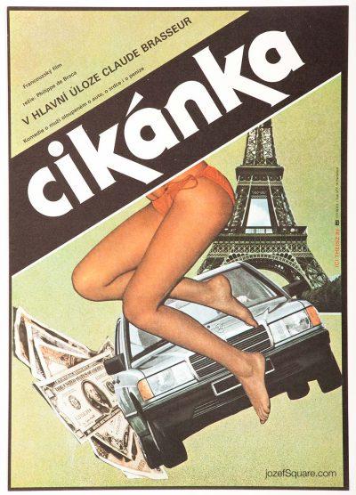 Movie Poster, The Gypsy, Stefan Theisz