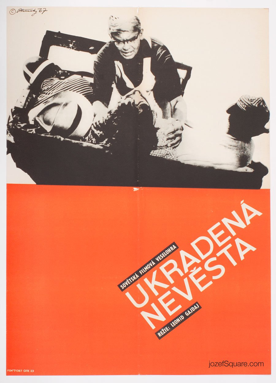 Minimalist Movie Poster, Kidnapping, Caucasian Style, Stransky
