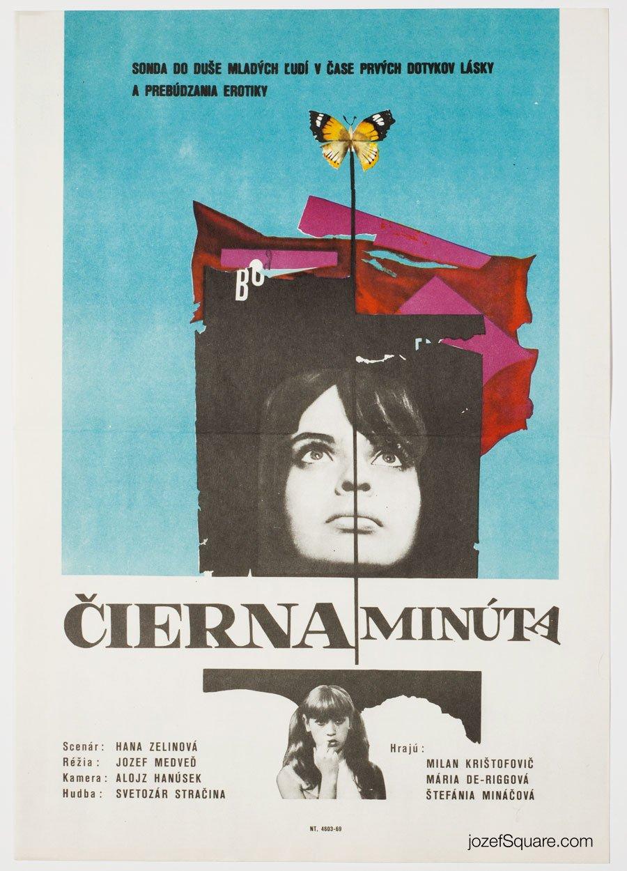 Abstract Movie Poster, Dark Moment, Unknown Artist