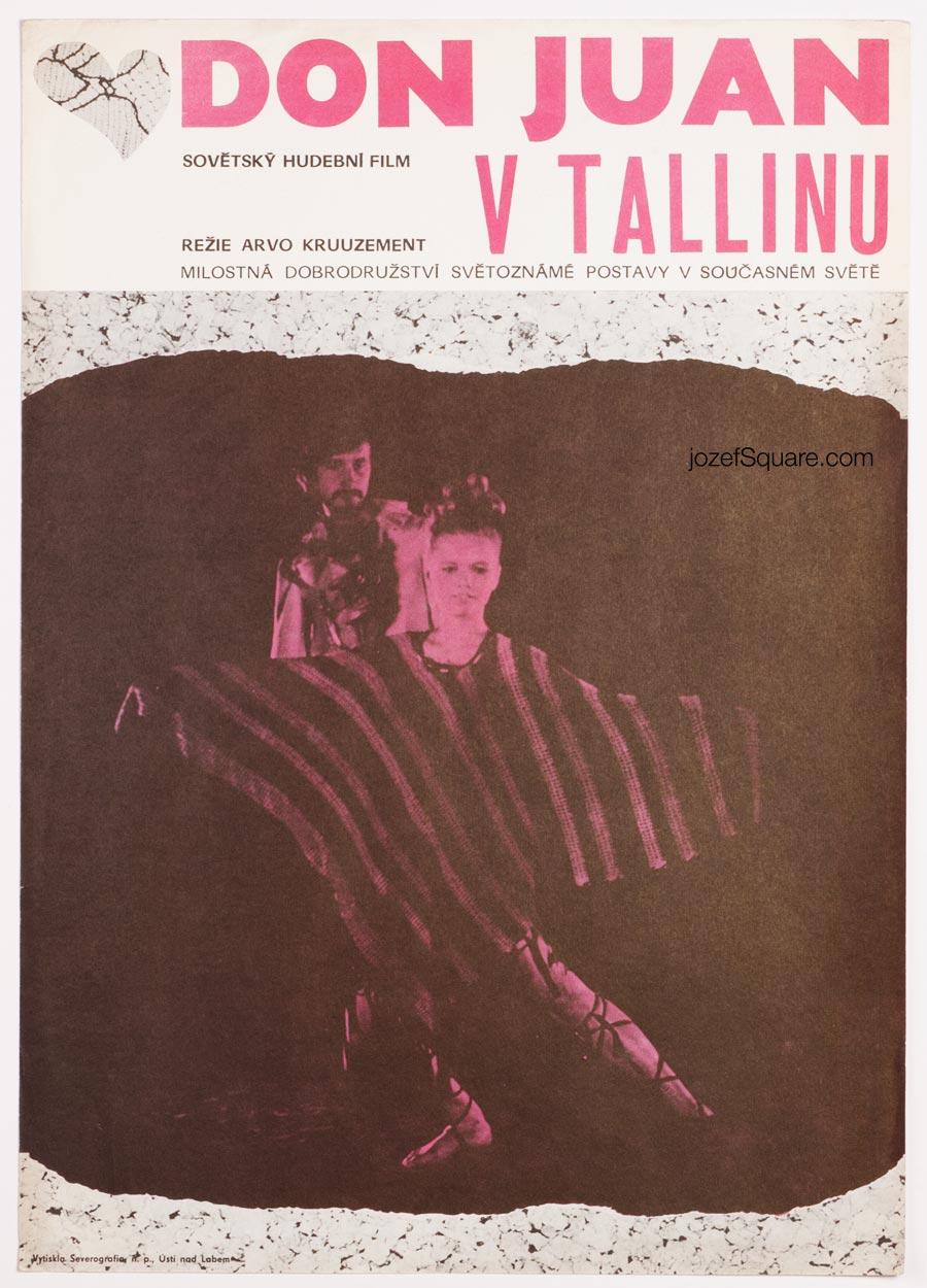 Movie Poster, Don Juan from Tallinn, Unknown Artist