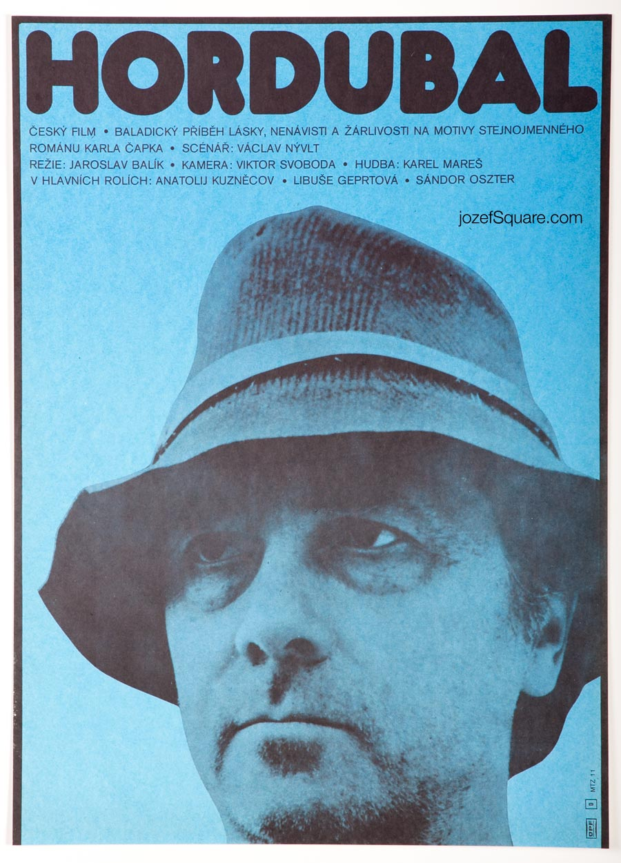 Movie Poster, Hordubal, Unknown Artist