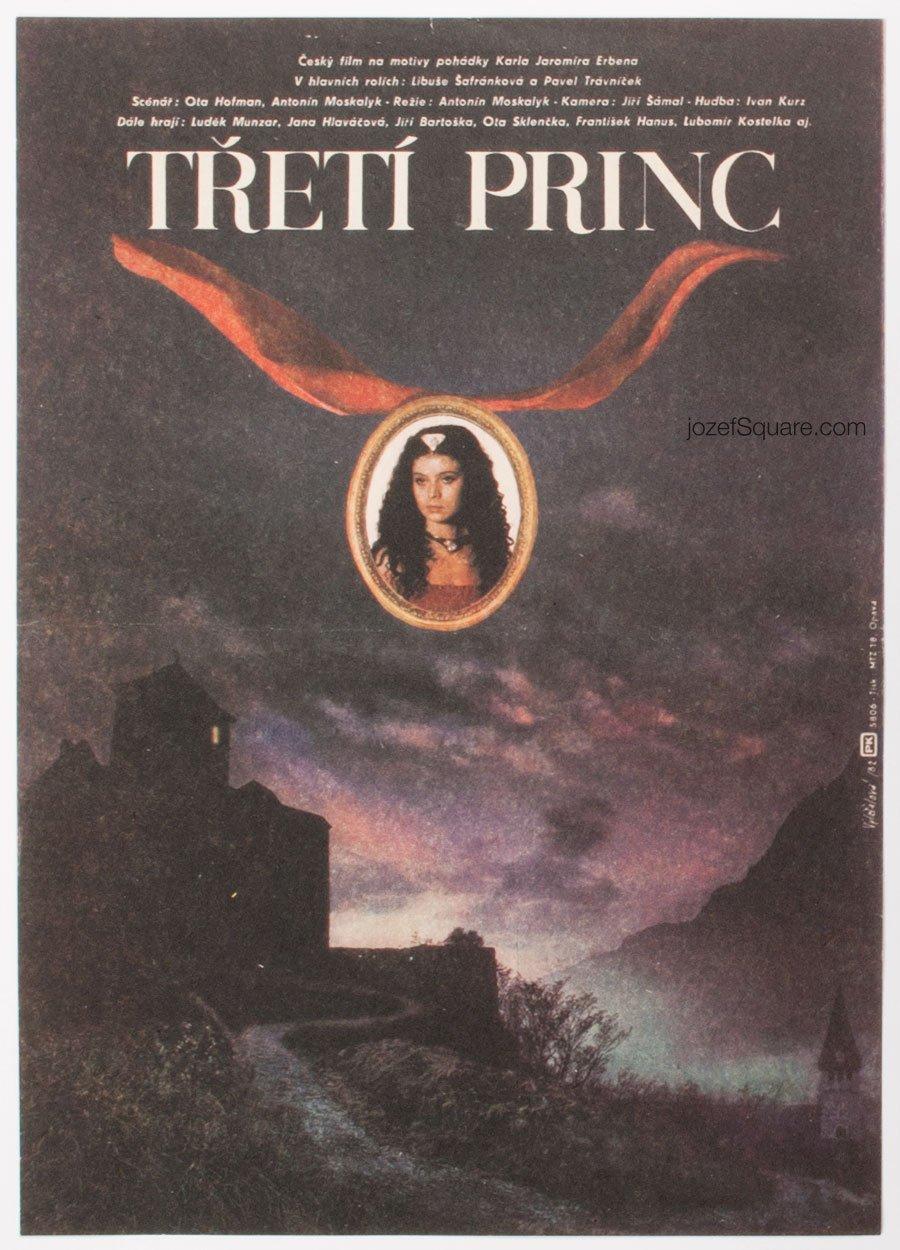 Kids Movie Poster, Third Prince, Zdenek Vlach