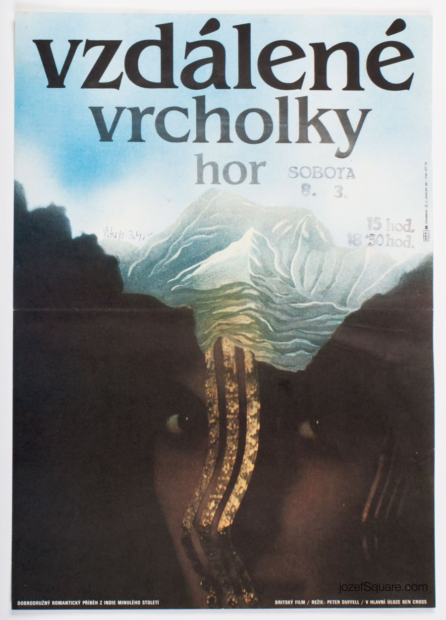 Movie Poster, Far Pavilions, Zdenek Ziegler