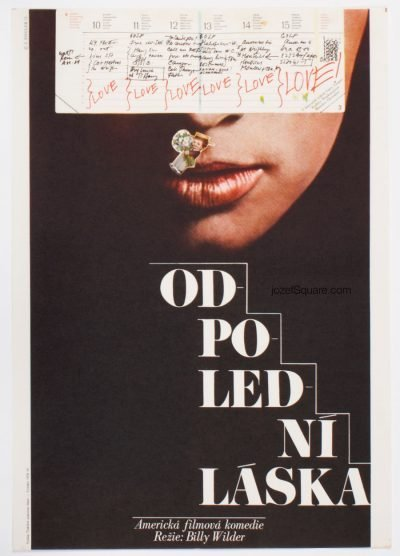 Movie Poster, Love in the Afternoon, Zdenek Ziegler