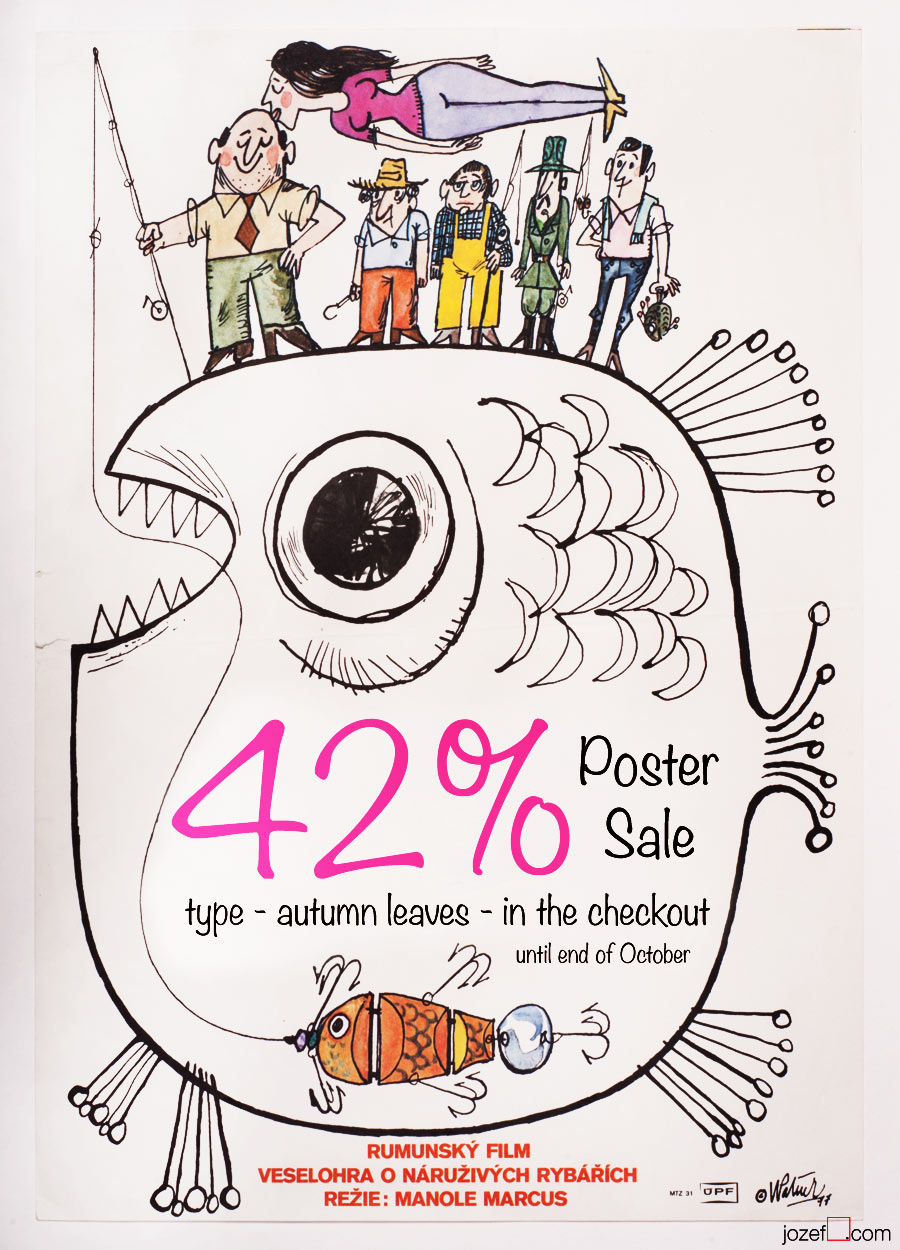 Czechoslovak Poster Archive, 42% Autumn Sale