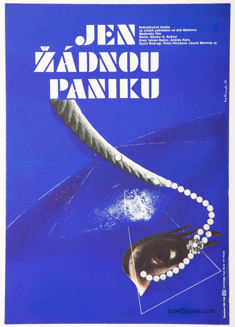 Movie Poster, Dont Panic, Please, Eva Hermanska