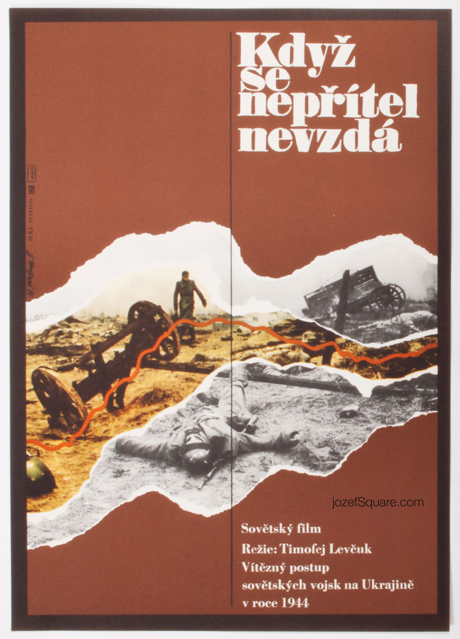 Movie Poster, If Enemy Doesnt Surrender, Jan Ungrad