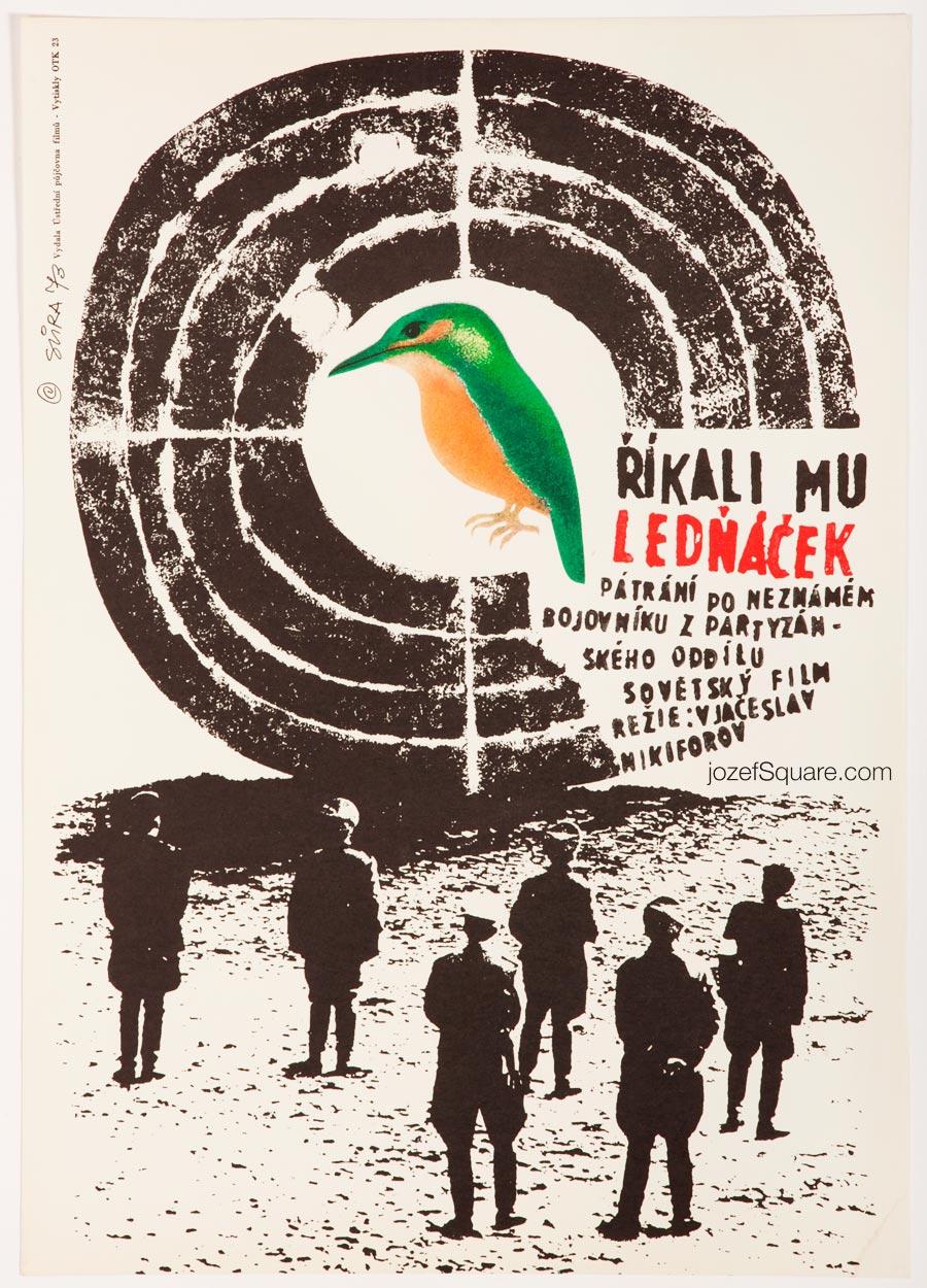 Movie Poster, Kingfisher, Jaroslav Sura