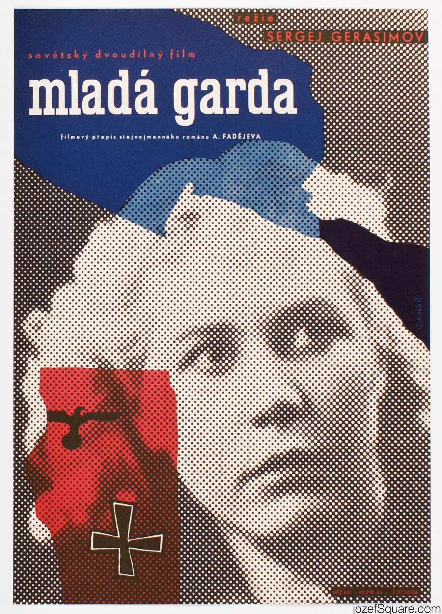 Movie Poster, Young Guard, Jiri Mikula