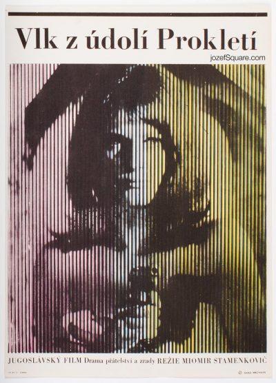 Movie Poster, Wolf from Prokletije Mountain, Karel Machalek