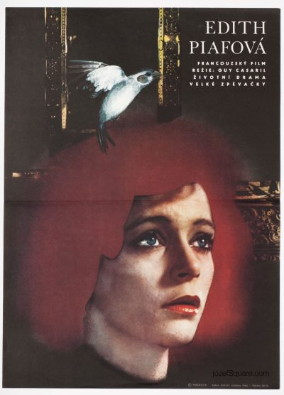 Movie Poster, Piaf, The Early Years, Maskova